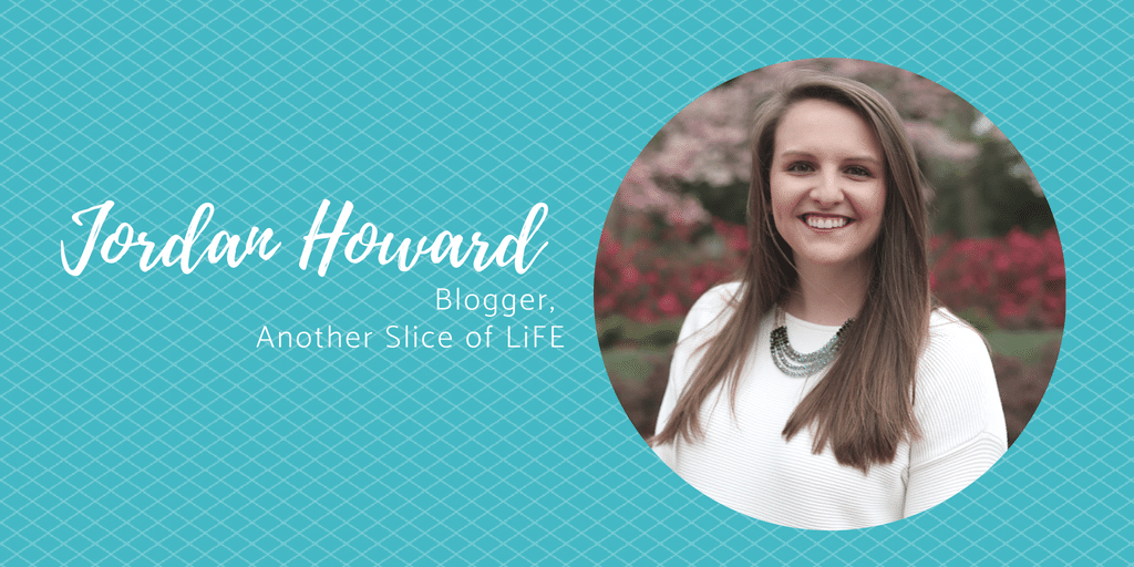 Meet Jordan Howard:  Blogger, Another Slice of LiFE
