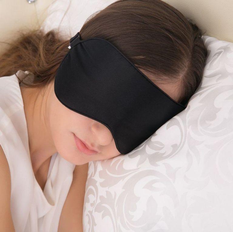 sleep mask and earplugs for your dorm