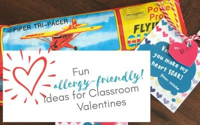 Fun allergy-friendly ideas for classroom Valentines
