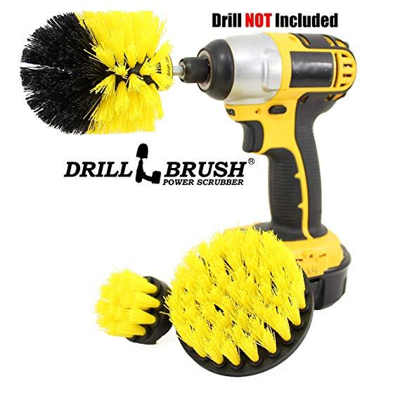 Cleaning Drillbrush