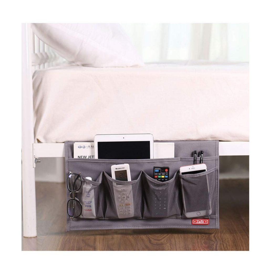 things you need for a college dorm room Bedside storage organizer