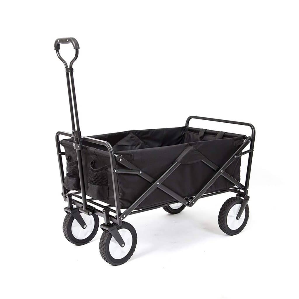 Collapsible Utility Wagon for Dorm Move-In