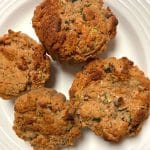 Zucchini Bread Muffins Gluten Free with Date Paste
