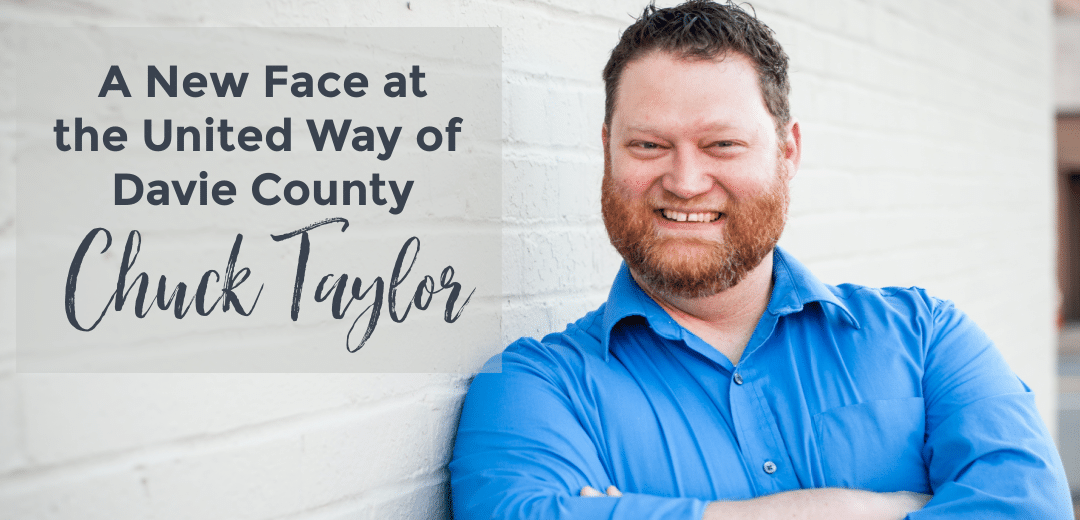 A New Face at the United Way of Davie County – Chuck Taylor.