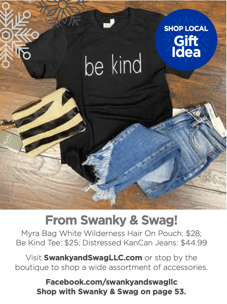 shop local in Davie County swanky & swag