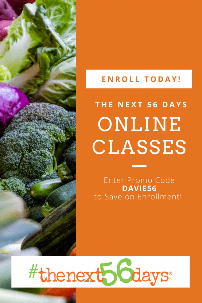 the Next 56 Days Online Classes 2021