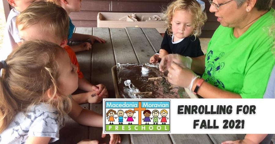 Macedonia Moravian Preschool Fall 2021